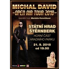 Michal David - OPEN AIR TOUR 2018