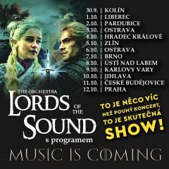 "Lords Of The Sound v programu ""Music is coming"" v Liberci"
